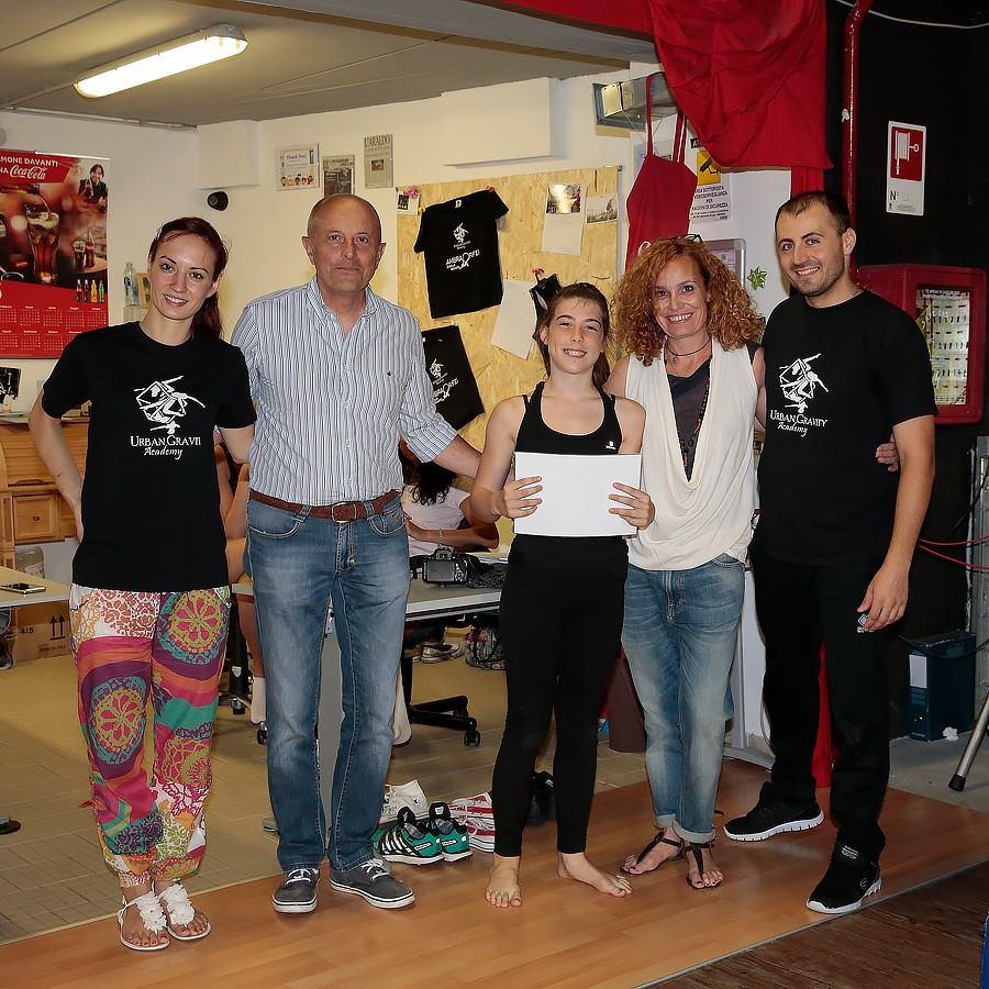 Premio a Urban Gravity Academy & Ambra Orfei Circus School
