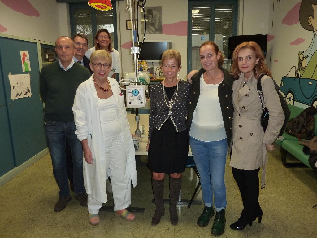 Reparto di Pediatria – Vigevano – 28 Ottobre 2015